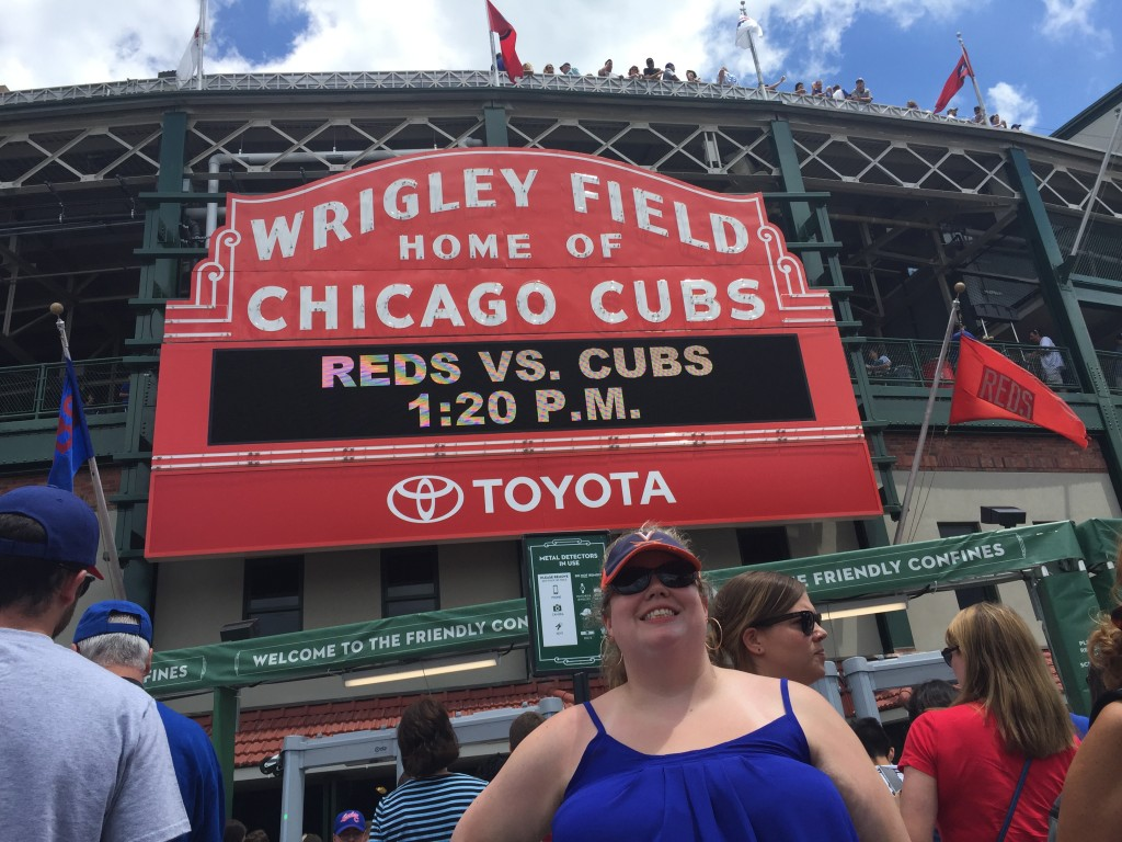 Wrigley Field Sign Podcast Movement