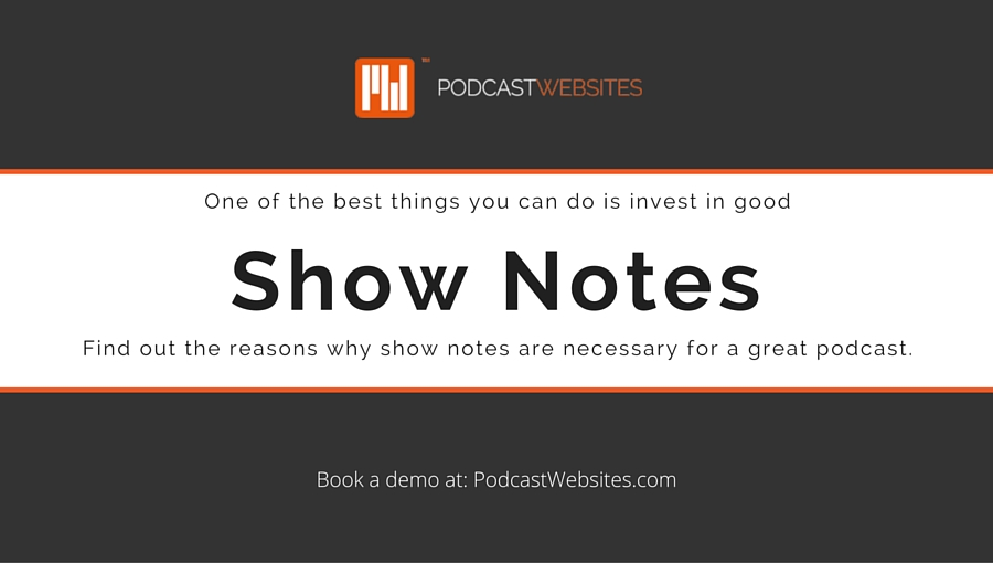 show notes