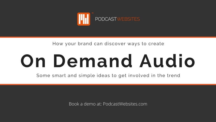 on demand audio blog title