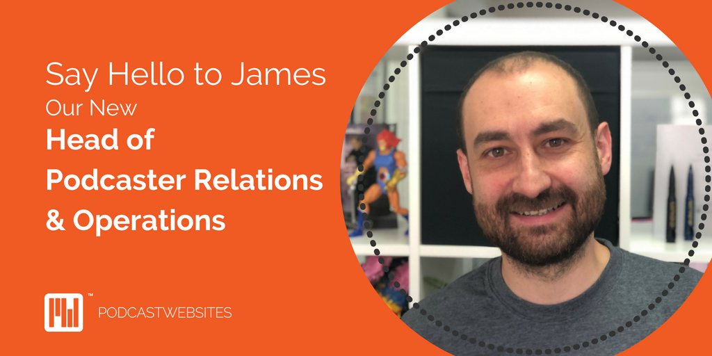 James welcome blog cover art