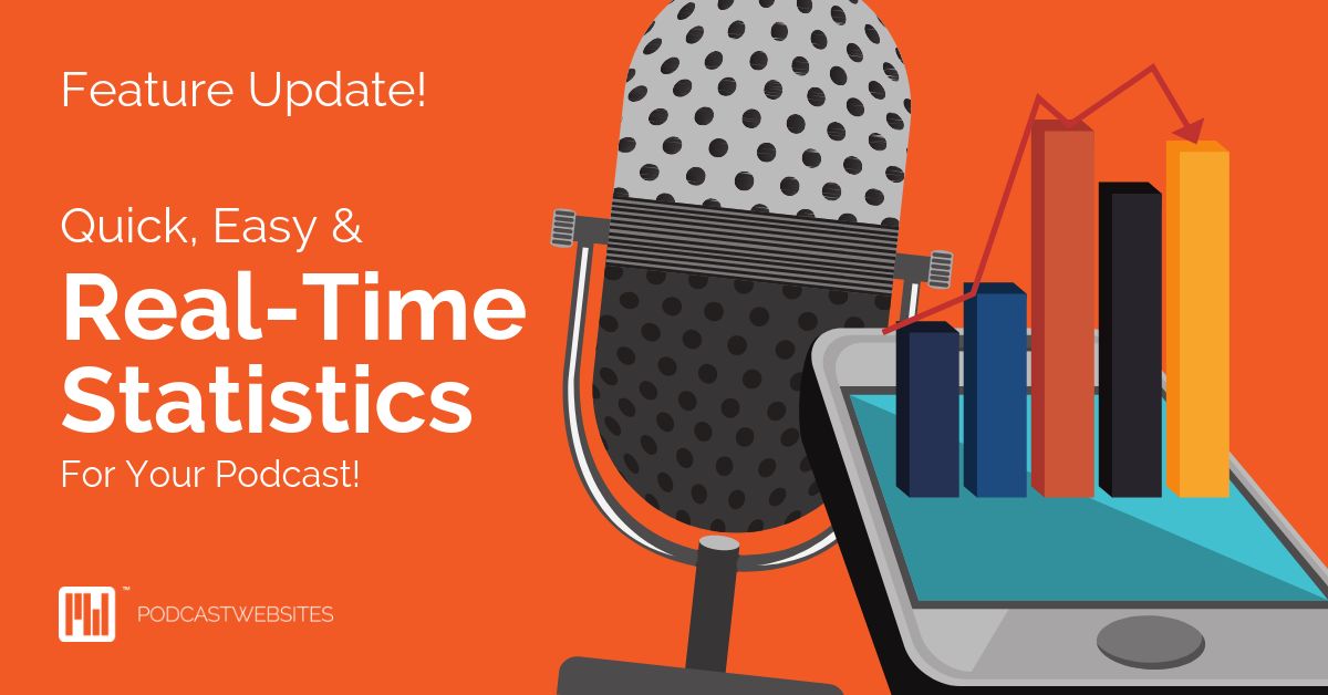 Quick easy and real-time stats for your podcast cover art